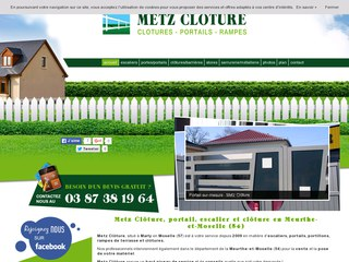 metz cloture construction maison b ton arm. Black Bedroom Furniture Sets. Home Design Ideas